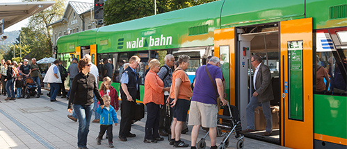 Waldbahn Linien im Landkreis Regen. Foto: © flohagena.com