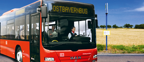 Buslinien Landkreis Regen. Foto: © DB AG, © rdnzl / Fotolia.com