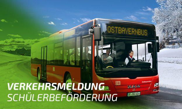Verkehrsmeldung Buslinien im Landkreis Regen. Foto: © DB AG