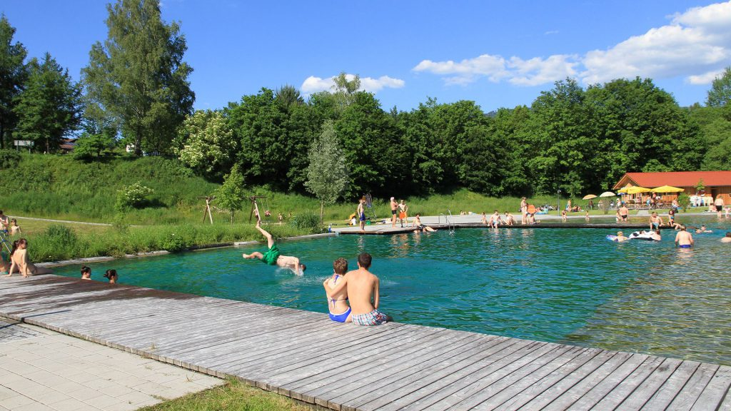 Natursee Drachselsried. Foto: © Tourist Info Drachselsried