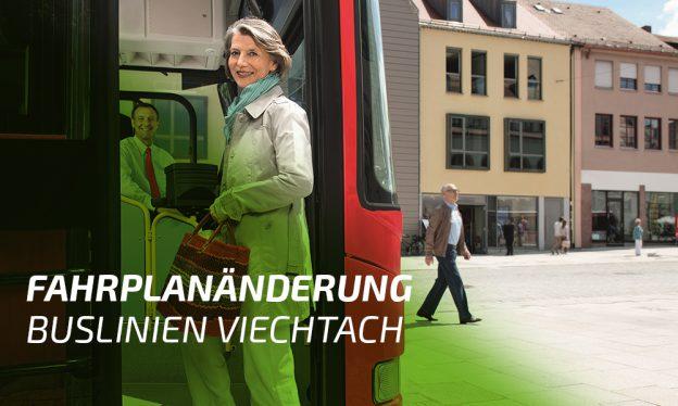 Fahrplanänderung Buslinien Viechtach. Foto: © DB AG